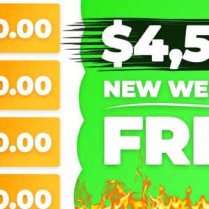 NEW Website Pays $4,500+ For FREE! | Passive Income (Make Money Online)