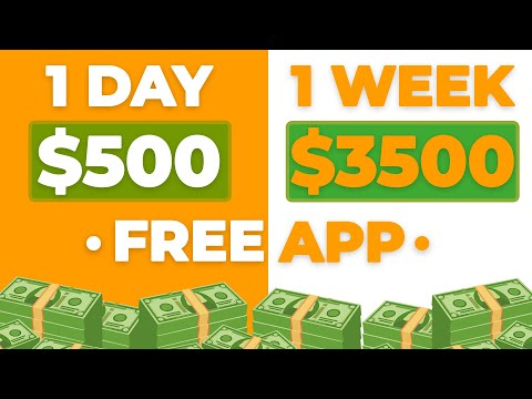 This FREE App Pays $500 Daily! (Make Money Online)
