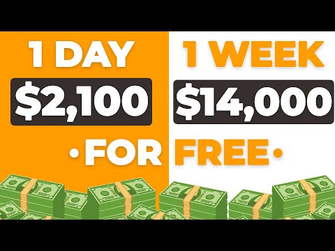 Earn $2,100 DAILY For FREE! (Make Money Online)