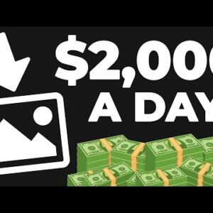 Make $2,000 Uploading Done For You Photos | Passive Income (Make Money Online)