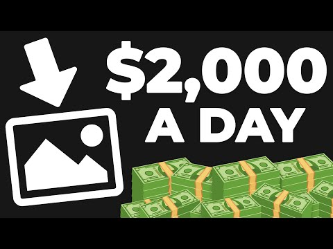 Make $2,000 Uploading Done For You Photos   Passive Income (Make Money Online)