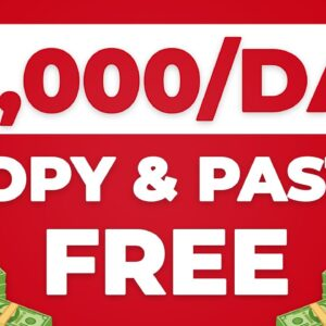 Earn $3000/Day With Copy & Paste! | EASY & FREE (Make Money Online)