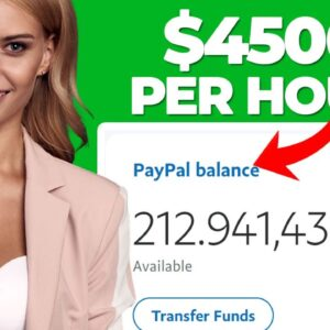 Earn $4,500 Per Day With FREE Website (PayPal Money | Make Money Online)