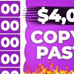 Make $10 Every 5 MIN Copying & Pasting! (Make Money Online)
