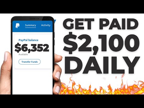 Make $2,100/Day In PayPal Money For FREE! (Make Money Online)