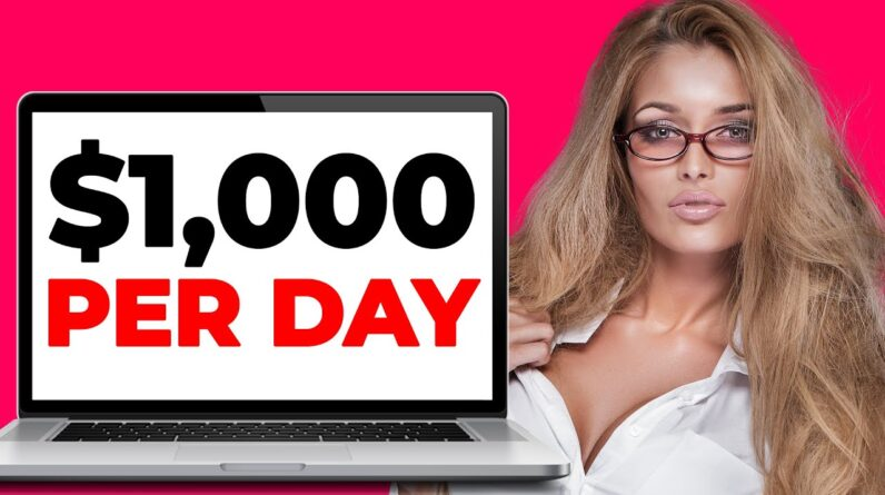 Earn $1000/Day With Affiliate Marketing For Beginners (BEST Make Money Online Tutorial)