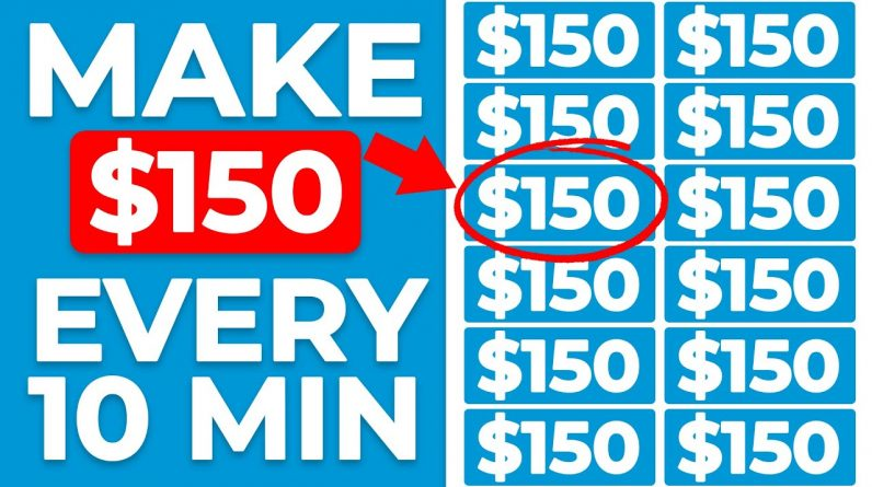 Make $150 Every 10 MIN RIGHT NOW! | FREE & Worldwide (Make Money Online)