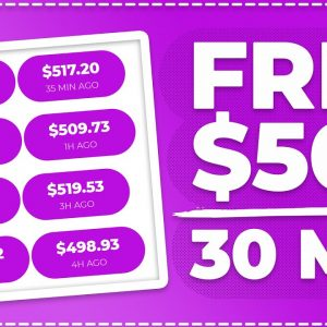 Make $500 Every 30 MIN With This FREE Bot! (Make Money Online)