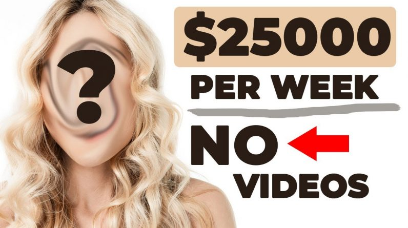 Earn $2,500/Day On YouTube Without Showing Your Face! (Make Money Online 2021)